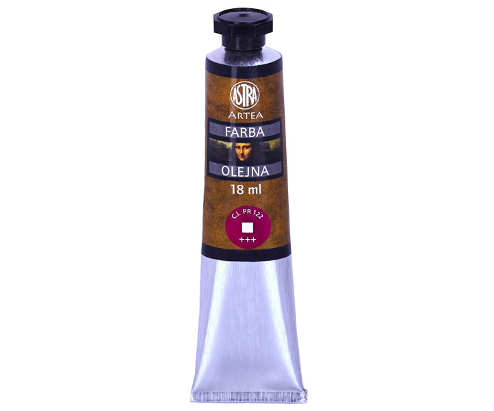 Oil paint ASTRA 18ml tube - violet-pink