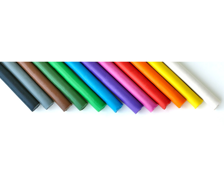Modeling clay ASTRA 12 colors + 1 free color