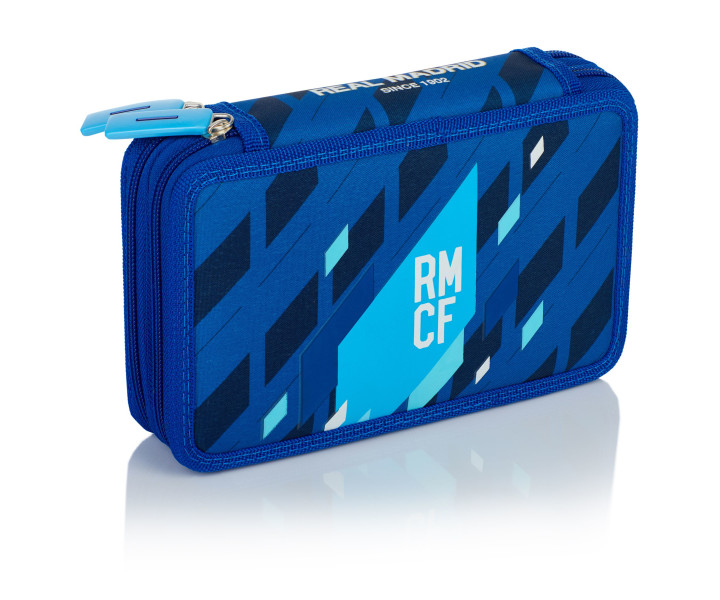 Double pencil case with equipment 2W RM-134 Real Madrid Color 4