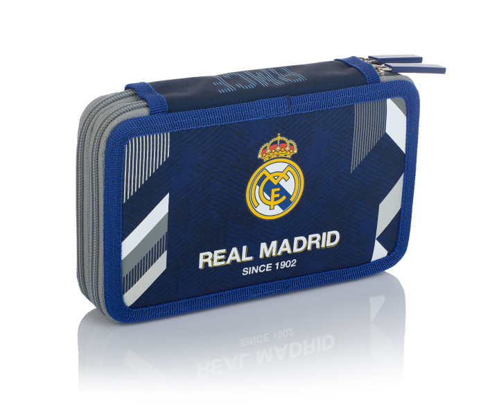 Double pencil case with accessories 2W RM-183 Real Madrid Color 5