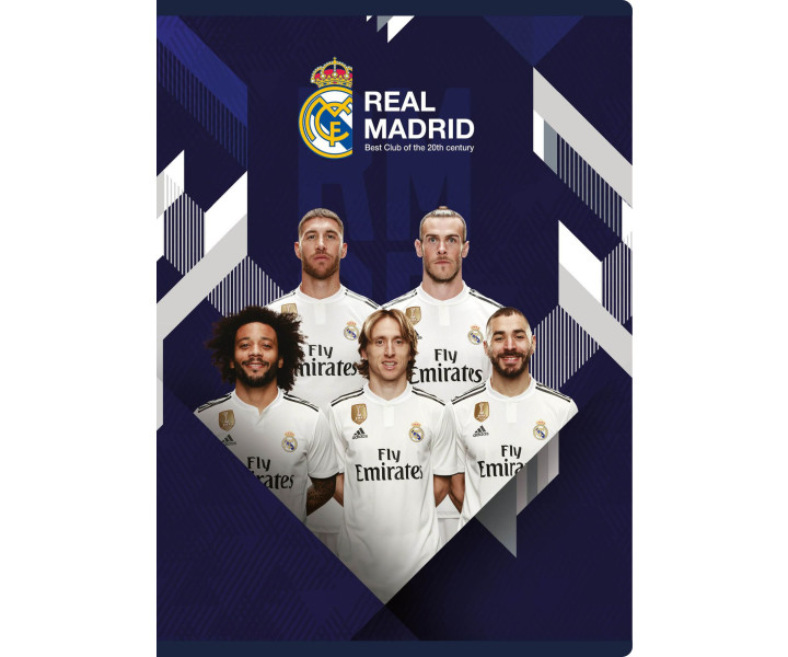 exercise book MO A5 32 sheets lined Real Madrid 4
