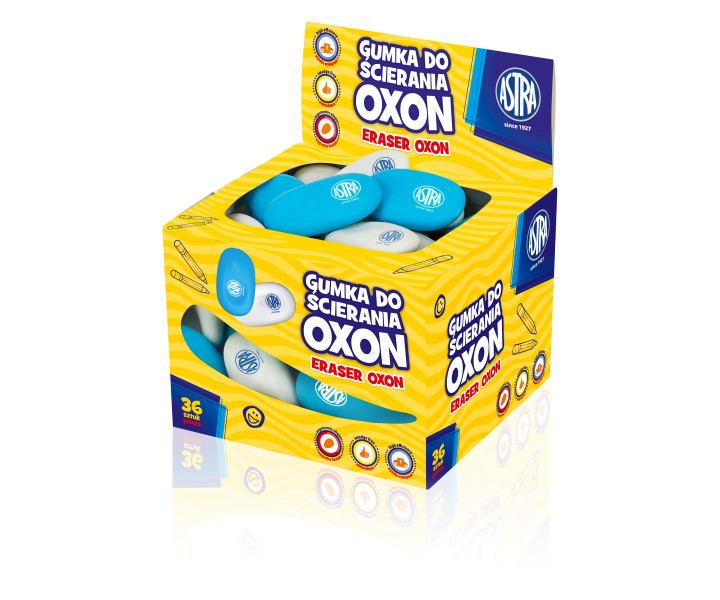 Astra Oxon Rubber with ergonomic handle - display 36 pcs