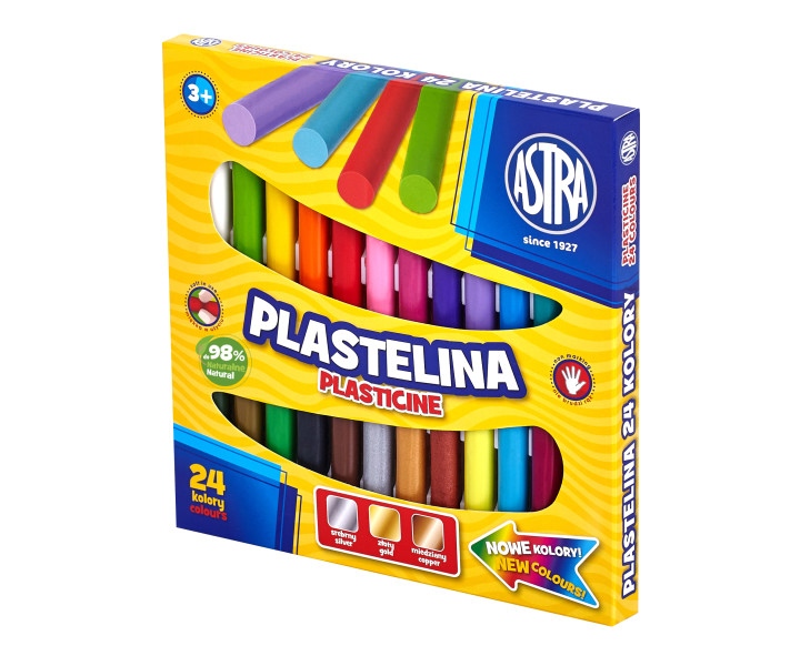 Modeling clay ASTRA 24 colors