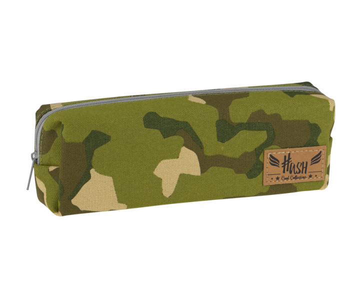 Pencil case - Pouch Army Hash 3- mix of patterns